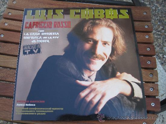 LUIS COBOS CAPRICCIO RUSO (Música - Discos - LP Vinilo - Orquestas)