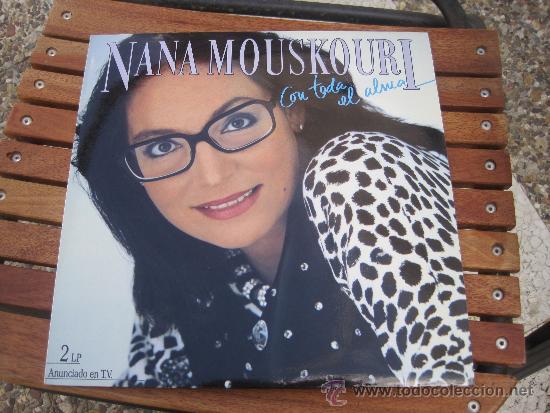 NANA MOUSLOURI CON TODA EL ALMA (Música - Discos - LP Vinilo - Cantautores Extranjeros)