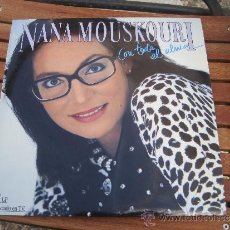Discos de vinilo: NANA MOUSLOURI CON TODA EL ALMA. Lote 35908936