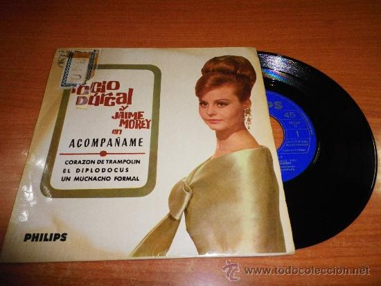 ROCIO DURCAL Y JAIME MOREY ACOMPAÑAME EP DE VINILO DEL AÑO 1965 CONTIENE 4 TEMAS (Música - Discos de Vinilo - EPs - Solistas Españoles de los 50 y 60)