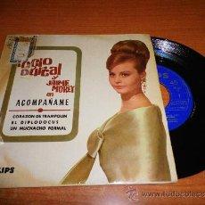 Discos de vinilo: ROCIO DURCAL Y JAIME MOREY ACOMPAÑAME EP DE VINILO DEL AÑO 1965 CONTIENE 4 TEMAS. Lote 71780758