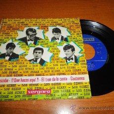 Discos de vinilo: LOS SIREX LA ESCOBA / EL TREN DE LA COSTA EP DE VINILO DEL AÑO 1965 CONTIENE 4 TEMAS. Lote 35934918