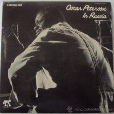 Discos de vinilo: OSCAR PETERSON IN RUSSIA. 2 LP. . Lote 35935020