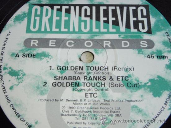 Discos de vinilo: SHABBA RANKS & OTROS ( GOLDEN TOUCH 4 VERSIONES ) ENGLAND-1990 MAXI45 GREENSLEEVES RECORDS - Foto 4 - 35945584
