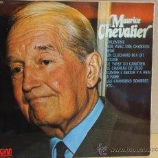 Discos de vinilo: MAURICE CHEVALIER. VALENTINE. LP 1974. SELLO GRAMUSIC. MUY BUENA CALIDAD. ***/***. Lote 35945684