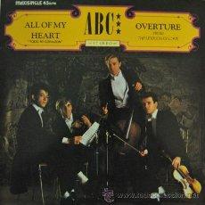 Discos de vinilo: ABC - ALL OF MY HEART - MAXI SINGLE ESPAÑOL DE 12 PULGADAS . Lote 35946946