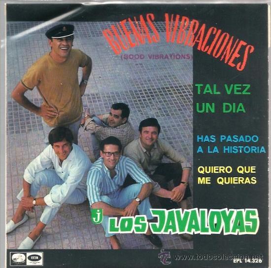 EP LOS JAVALOYAS ( VERSIONES EN ESPAÑOL DE BEACH BOYS, SPENCER DAVIS GROUP Y THE ROLLING STONES) (Música - Discos de Vinilo - EPs - Grupos Españoles 50 y 60)