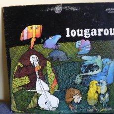 Discos de vinilo: LOUGAROU.- S/T. FOLK ROCK CANADÁ 70/ALGÚN PASAJE PROGRESIVO/PORTADA ABIERTA/OR. CANADÁ. Lote 35960479