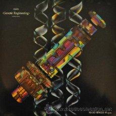 Discos de vinilo: ORCHESTRAL MANOUVRES IN THE DARK OMD - GENETIC ENGINEERING - MAXI SINGLE ESPAÑOL DE 12 PULGADAS . Lote 35968035