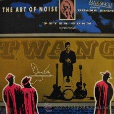 Discos de vinilo: THE ART OF NOISE - PETER GUNN - MAXI SINGLE ESPAÑOL DE 12 PULGADAS . Lote 35968456