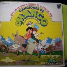 Disques de vinyle: LAS CANCIONES DE MARCO - LP (PHILIPS, 1977). Lote 35979131