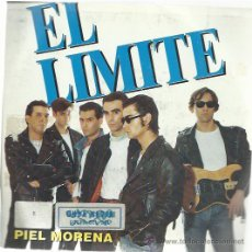 Discos de vinilo: EL LÍMITE - PIEL MORENA / EL SOLDADO - SINGLE FONOMUSIC 1991. Lote 35972557
