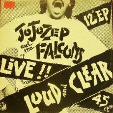 Discos de vinilo: JO JO ZEP AND THE FALCONS-LOUD AND CLEAR MAXI SINGLE 1978 (AUSTRALIA). Lote 35977199