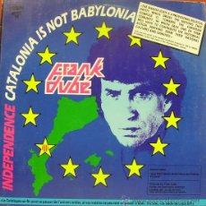 Discos de vinilo: FRANK DUBE-IN THE PEN AND CIA MAXI SINGLE 1987 SPAIN. Lote 35978159