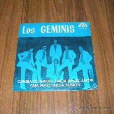 Discos de vinilo: LOS GEMINIS - CUMBIA DE AMOR. Lote 35982622