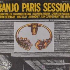 Discos de vinilo: BANJO PARIS SESSION - VARIOS - 2 LP´S - GUIMBARDA - 1979 GAT. Lote 35982735