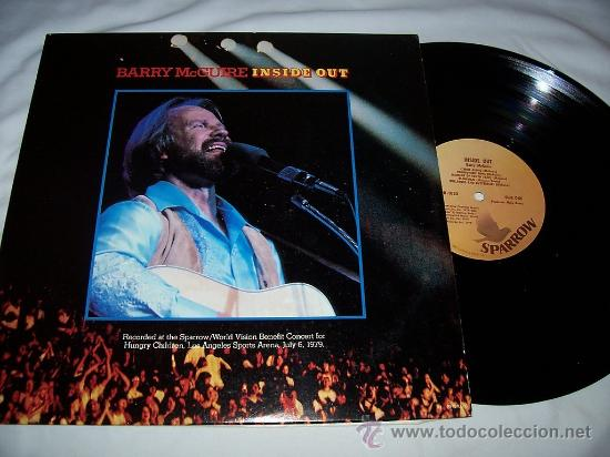 BARRY MCGUIRE / INSIDE OUT 1977 !! ORIG EDIT USA !! EXC !!! (Música - Discos - LP Vinilo - Pop - Rock Extranjero de los 50 y 60)