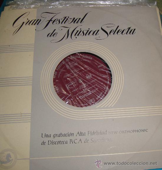 Discos de vinilo: COLECCIÓN DISCOS LPs, GRAN FESTIVAL DE LA MÚSICA SELECTA, DISCOTECA DE SELECCIONES RCA - Foto 5 - 35988223