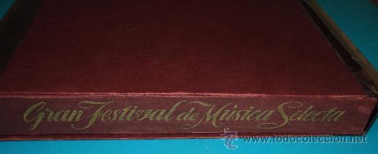 Discos de vinilo: COLECCIÓN DISCOS LPs, GRAN FESTIVAL DE LA MÚSICA SELECTA, DISCOTECA DE SELECCIONES RCA - Foto 7 - 35988223
