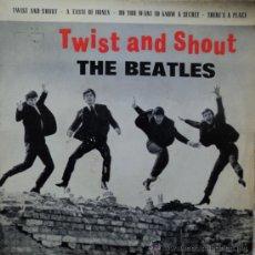 Discos de vinilo: THE BEATLES - TWIST AND SHOUT - EDICIÓN DE 1963 DE ESPAÑA. Lote 194994873