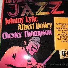 Discos de vinilo: RARO LP. JOHNNY LYTLE. INCLUYE LE TEMA BABO, SÓLO GRABADO EN ESTE LP. Lote 35995086