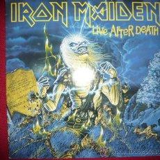 Discos de vinilo: IRON MAIDEN- LIVE AFTER DEATH. Lote 46896412