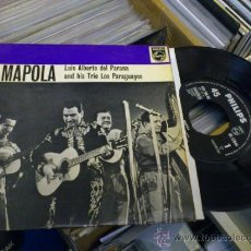 Discos de vinilo: LUIS ALBERTO DEL PARANA AMAPOLA PHILIPS BE 12544 . Lote 36008975