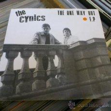 Discos de vinilo: THE CYNICS THE ONE WAY OUT EP GARAJE MOD POWER POP BEAT . Lote 36009070