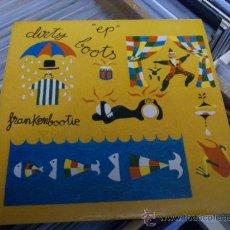 Discos de vinilo: DIRTY BOOTS FRANKENBOOTIE EP SINGLE ELEFANT RECORDS 127 . Lote 36009136