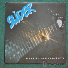 Discos de vinilo: SLIDER - THE SLIDER PROJECT SAVOY BROWN , THE RODS, RAVEN, OVERKILL, BATTLEZONE , BLUE CHEER. Lote 36012713