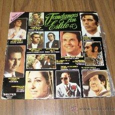 Discos de vinilo: FANDANGOS CON ESTILO - FOSFORITO, JUANITO MARAVILLAS, PORRINA DE BADAJOZ, LA PERLA DE CADIZ..... Lote 36013145