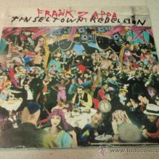 Discos de vinilo: FRANK ZAPPA ?– TINSEL TOWN REBELLION 2LPS USA 1981 BARKING PUMPKIN RECORDS. Lote 36015983