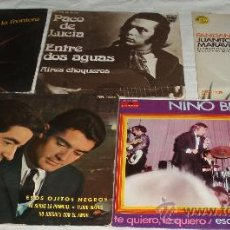 Discos de vinilo: CINCO DISCOS DE VINILO VARIOS ESTILOS. Lote 36020983