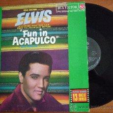 Discos de vinilo: ELVIS PRESLEY-FUN IN ACAPULCO-EL IDOLO DE ACAPULCO- (RCA-1987). Lote 36026381