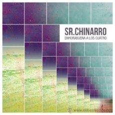 Discos de vinilo: SR. CHINARRO ENHORABUENA A LOS CUATRO VINILO. Lote 135312663