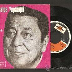 Discos de vinilo: ATAHUALPA YUPANQUI - TRABAJO, QUIERO TRABAJAR - PROMOCION STARLUX - DISCO OBSEQUIO. Lote 36030614