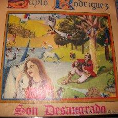 Discos de vinilo: EP 45 - SILVIO RODRIGUEZ - SON DESANGRADO / LA PRIMERA MENTIRA. Lote 234413595