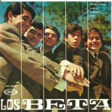 Discos de vinilo: LOS BETA INCENDIO EN RIO 9 + 3 EP SONOPLAY SPAIN 1967 @ BEAT SPAIN @ ABSOLUTAMENTE A ESTRENAR. Lote 36033733