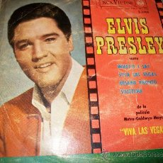 Discos de vinilo: EP 45 - ELVIS PRESLEY - WHAT'D I SAY / VIVA LAS VEGAS / KISS ME QUICK / SUSPICION. Lote 36034771