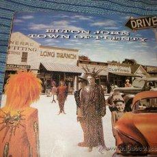 Discos de vinilo: EP 45 - ELTON JOHN - TOWN OF PLENTY / WHIPPING BOY. Lote 36034799