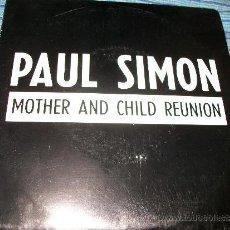 Discos de vinilo: PROMO EP 45 - PAUL SIMON - MOTHER AND CHILD REUNION. Lote 36034906