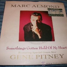 Discos de vinilo: EP 45 - MARC ALMOND - SOMETHINGS GOTTEN HOLD OF MY HEART. Lote 36035071