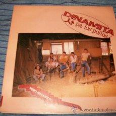 Discos de vinilo: EP 45 - DINAMITA PA LOS POLLOS - TORO MECANICO / HIS LATEST FLAME. Lote 36035933