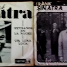 Discos de vinilo: DOS SENCILLOS ARGENTINOS DE FRANK SINATRA. Lote 35834438