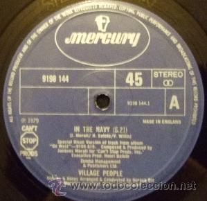 VILLAGE PEOPLE – IN THE NAVY (Música - Discos de Vinilo - EPs - Disco y Dance)