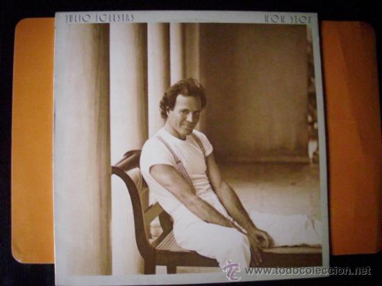 JULIO IGLESIAS - NON STOP - LP CBS 1988 PEPETO (Música - Discos - LP Vinilo - Solistas Españoles de los 70 a la actualidad)