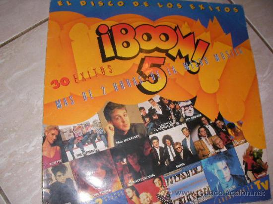 DISCO LP - BOOM 5 (Música - Discos - LP Vinilo - Otros estilos)