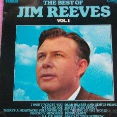 Discos de vinilo: JIM REEVES,THE BEST EDICION INGLESA. Lote 36054714