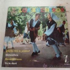 Discos de vinilo: SINGLE LOS BOCHEROS. Lote 36057939