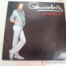 Discos de vinilo: SINGLE CAMILO SESTO MI MUNDO TU. Lote 36059320